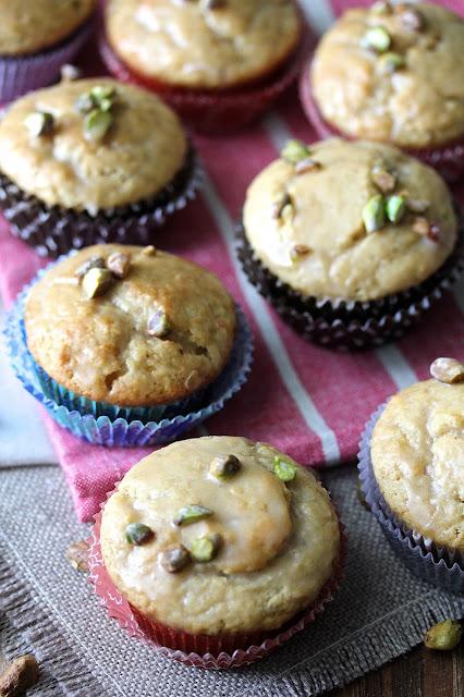 Brown Sugar, Garam Masala, and Pistachio Muffins