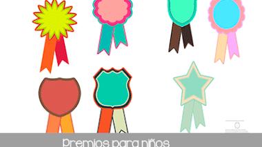 Premios para niños para imprimir
