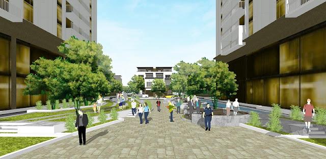 Cảnh quan rộng lớn tại dự án Thống Nhất Complex