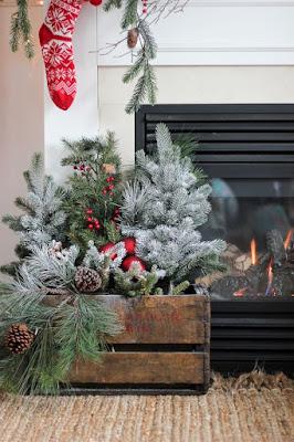 świąteczne inspiracje, świąteczne wieńce, świąteczne lampiony, ogród przydomowy