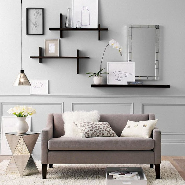 Epic Decoration Ideas For Shelves In A Living Room