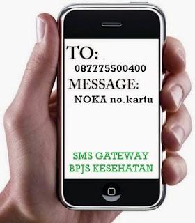 MEngetahui Kelas BPJS dengan SMS Gateway