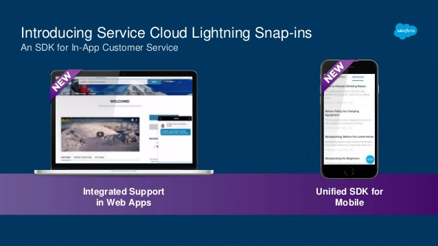 Setup Service Cloud Lightning Snap-Ins with Omni Channel - Basic Steps