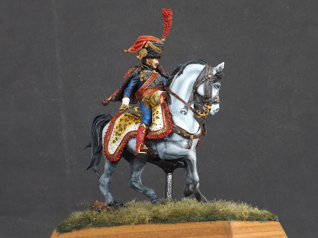 Captain of the Hussars, Elite Company 1806 - 1812 - Pegaso Miniatures 75mm New_1_011