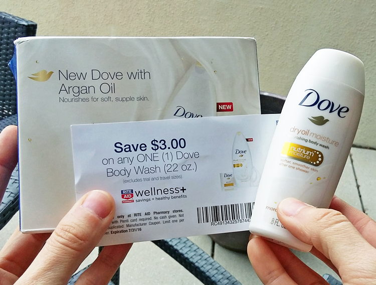 Dove coupons by mail