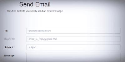 موقع-Send-Email-لإرسال-إيميل-مشفر