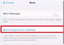 how to block someone on facebook messenger without them knowing