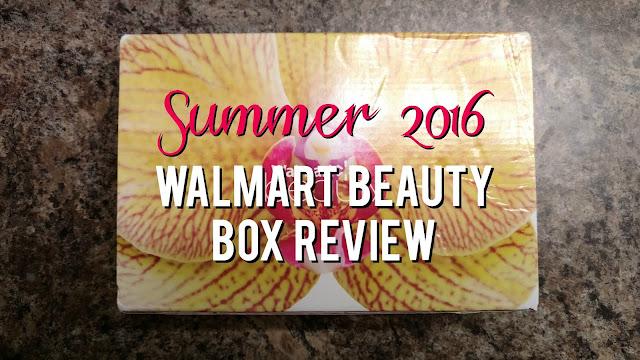 Summer 2016 Walmart Beauty Box Review--Is it worth $5?
