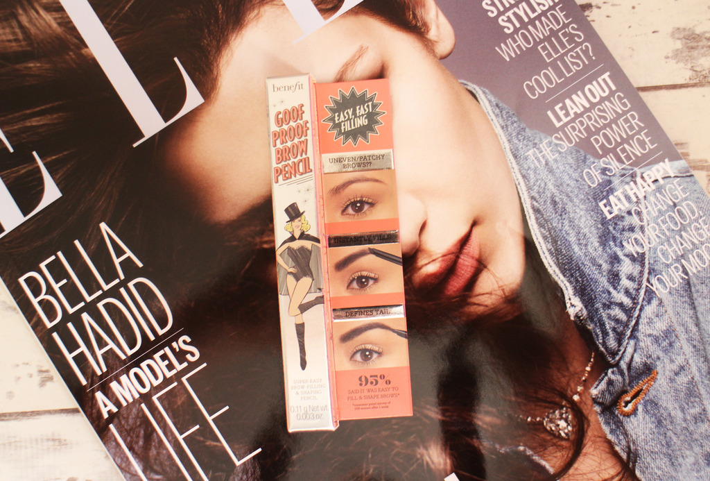 Initial Impressions   Benefit Goof Proof Brow Pencil