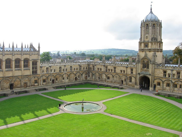 Christ Church College em Oxford
