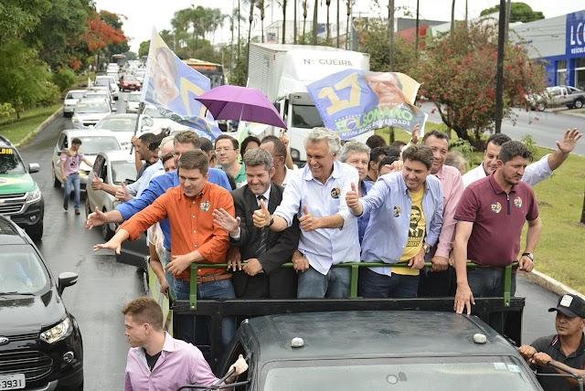 Caiado diz que se empenhará para que Goiás tenha um representante no governo Federal