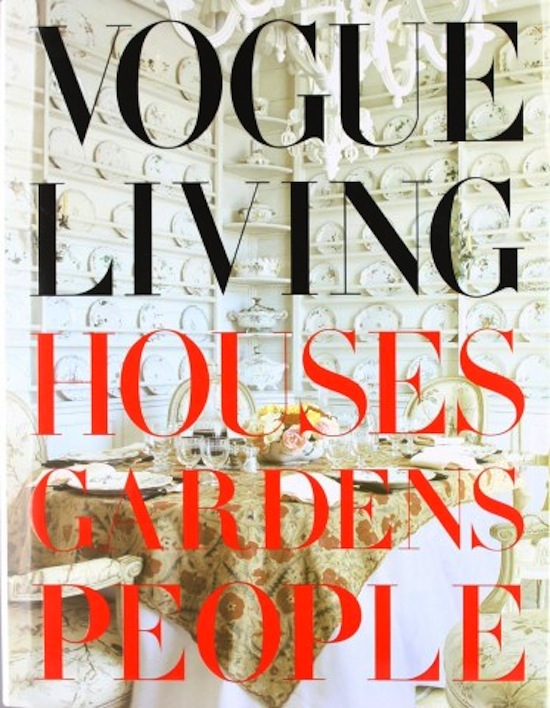 vogue living houses gardens people book