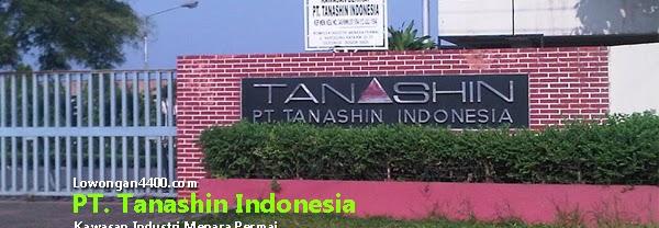 Lowongan Kerja PT. Tanashin Indonesia Cileungsi Bogor