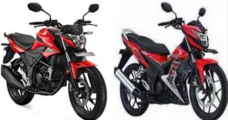 Lebih cantik mana CB 150R, Sonic 150R atau sebelah?