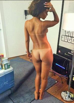Rhianna nude pics uncensored seems