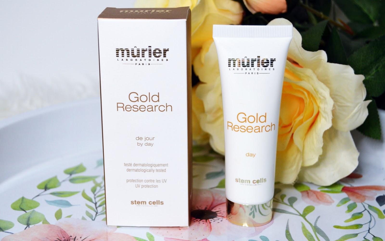 Gold Research by day – Murier – krem na dzień ze złotem koloidalnym