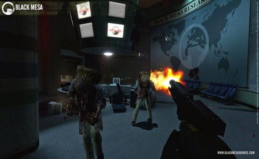 لعبة التصويب والقتال Black Mesa