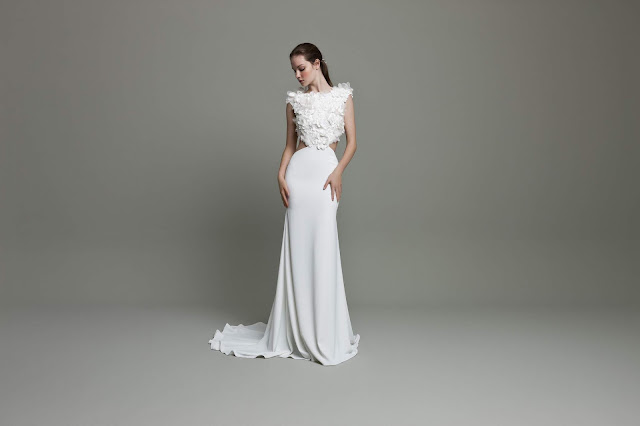 K'Mich Weddings - wedding planning - cutout wedding dress - Daalarna Couture Collection