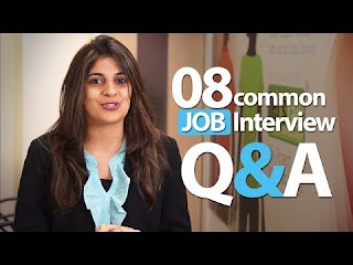 Top 8 Common interview questions