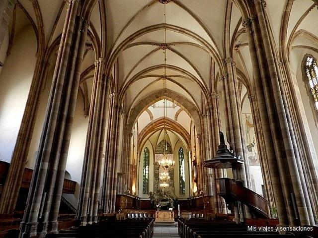 Iglesia de Saint Thomas, Estrasburgo, Grande Íle, Alsacia, Francia