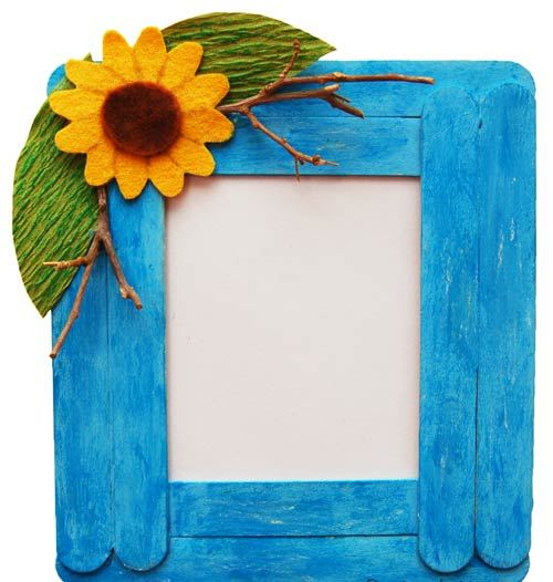 photo frame craft ideas ~ 3d origami for kids