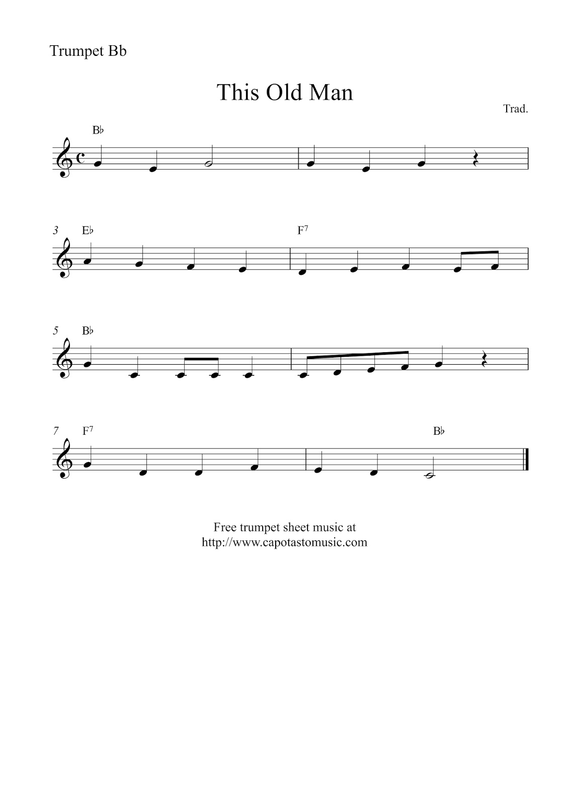 Sizzling image with regard to free printable trombone sheet music