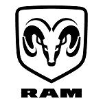 Logo RAM marca de autos