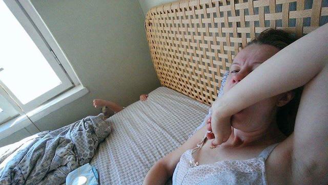 Uykudan Uyanmış Anne