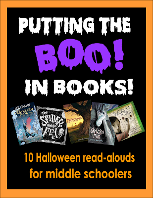 Big kids like storytime, too! Give them time to sit back and listen with some spooky read-alouds for Halloween!