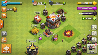 Clash Of Clans Unlimited Gems,Gold and Elixir || Mod Version