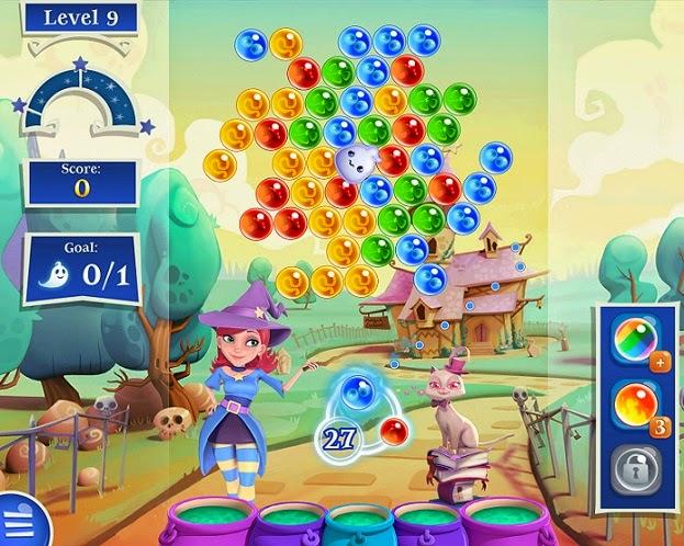 Jogo Bubble Witch 2 Saga Facebook