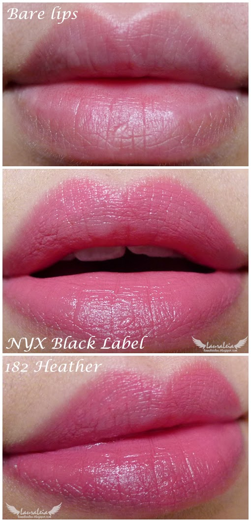 "NYX Black Label Lipstick in ""Heather"" (BLL 182)"