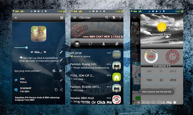download BBM Mod Chat Me Thema Gradient Black Versi 2.12.0.9