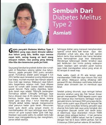 PATENT!!!, Obat Diabetes Alami dari Tumbuhan, Herbal Putih Obat Diabetes