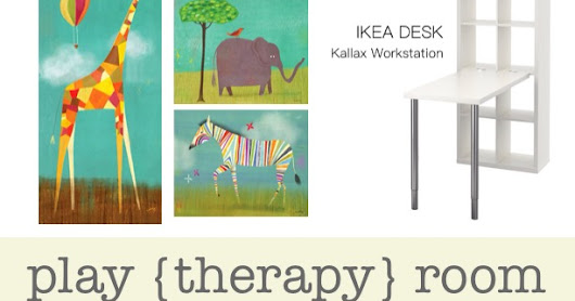 Play {Therapy} Room Design Plan