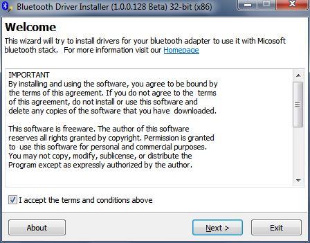 البرنامج, الرسمى, لتعريف, البلوتوث, على, أجهزة, الحاسوب, واللابتوب, Bluetooth ,Driver ,Installer, اخر, اصدار