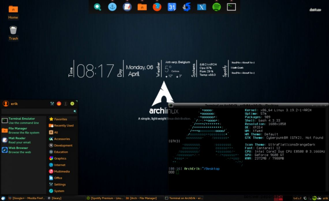Fantastic Arch Linux Best Wallpaper Background Download Free Architecture Designs Lukepmadebymaigaardcom