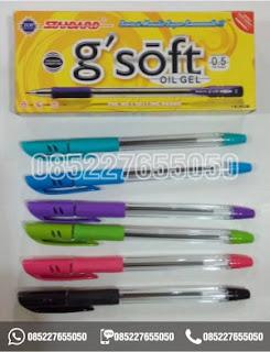 Pulpen Standard G Soft, Harga Pulpen Standard G Soft, 0852-2765-5050
