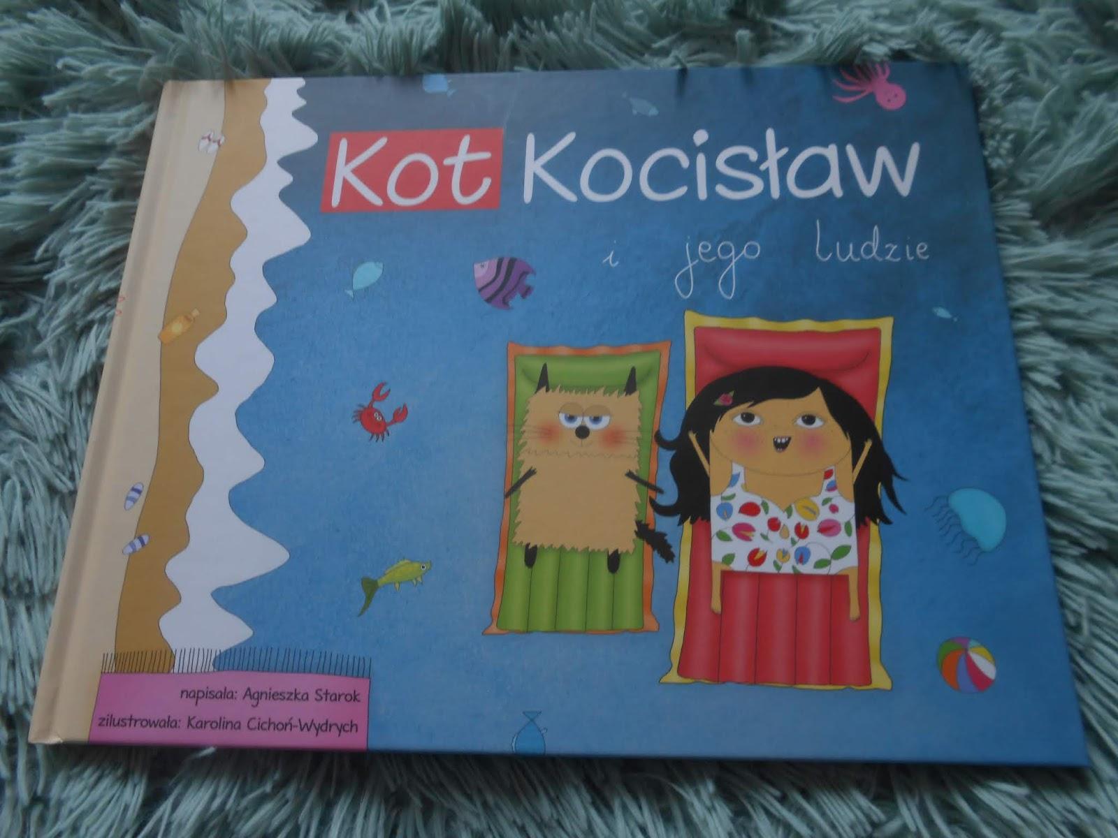 Wydawnictwo Tekturka- Kot Kocisław i jego ludzie
