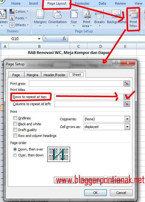 Membuat Halaman Di Excel : membuat, halaman, excel, Membuat, Judul, Excel, Secara, Otomatis, Untuk, Semua, Halaman, [Tutorial, Pemula]