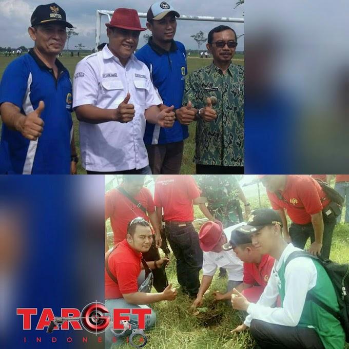 Penghijauan di Desa Kebolampang di Hadiri Ketua Karang Taruna Kabupaten Pati Saiful Arifin
