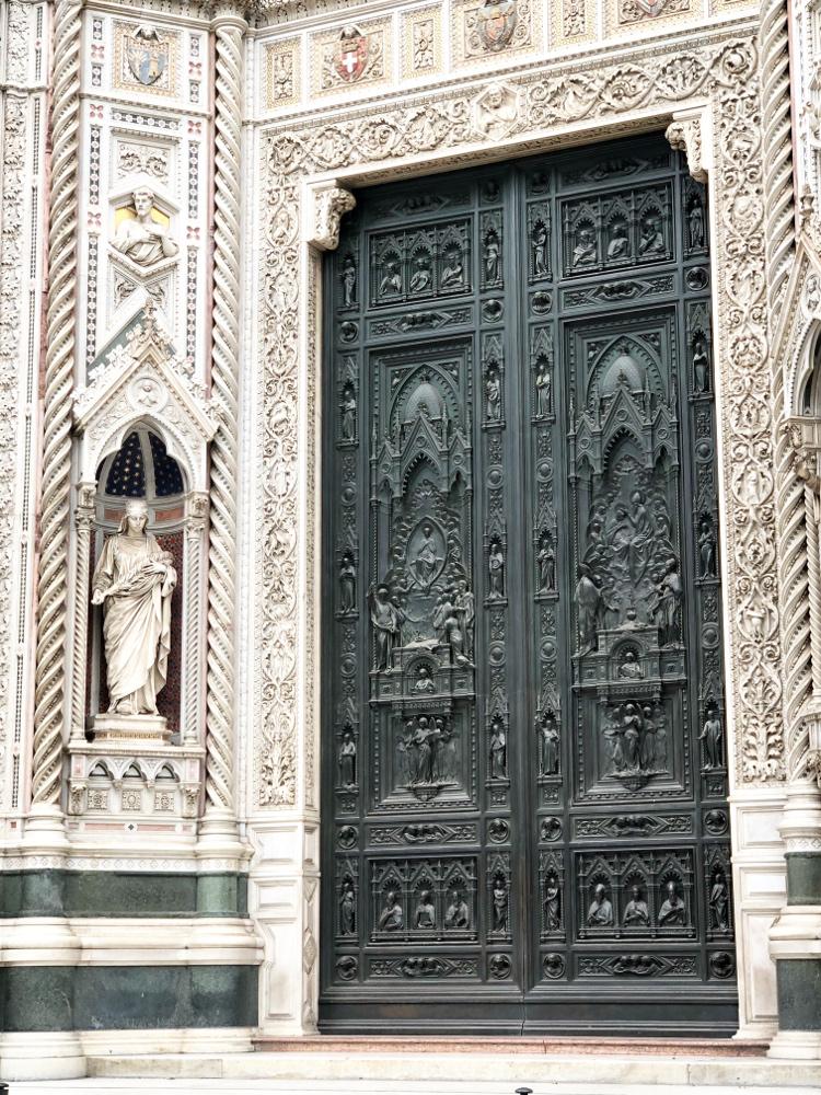 Dettaglio del duomo di Firenze