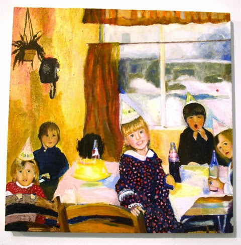 Christine Clark - The Birthday Party Paintings - Review by Debora Alanna
