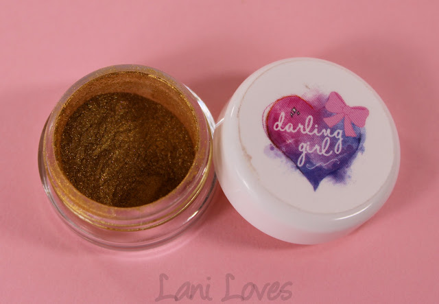 Darling Girl Eyeshadows - Honey Pot Swatches & Review