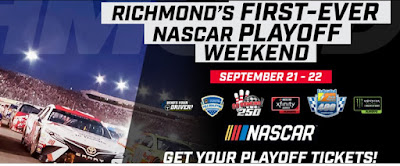 #NASCAR returns for Richmond's first-ever Fall Playoff Race Weekend