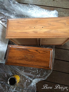 how to refinish stain wood furniture diy tutorial