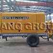 Sanqgroup completed the delivery of concrete pump and pile hammer