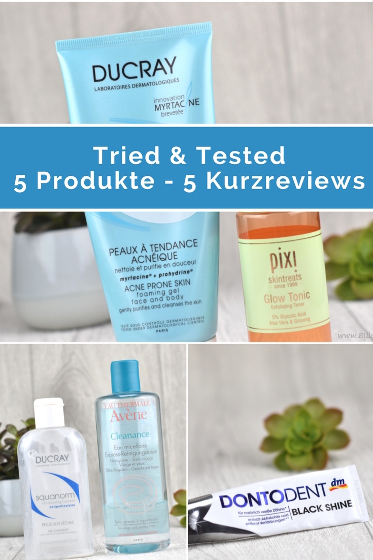Tried & Tested - 5 Produkte - 5 Kurzreviews