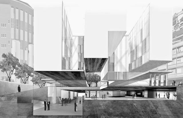 Ampliamento dell'università Bocconi a Milano. Grafton Architects