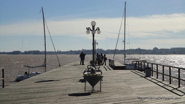 Muelle 1866 - Colonia del Sacramento, Uruguai